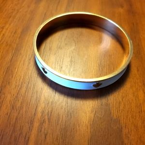 Kate Spade cream enamel bracelet